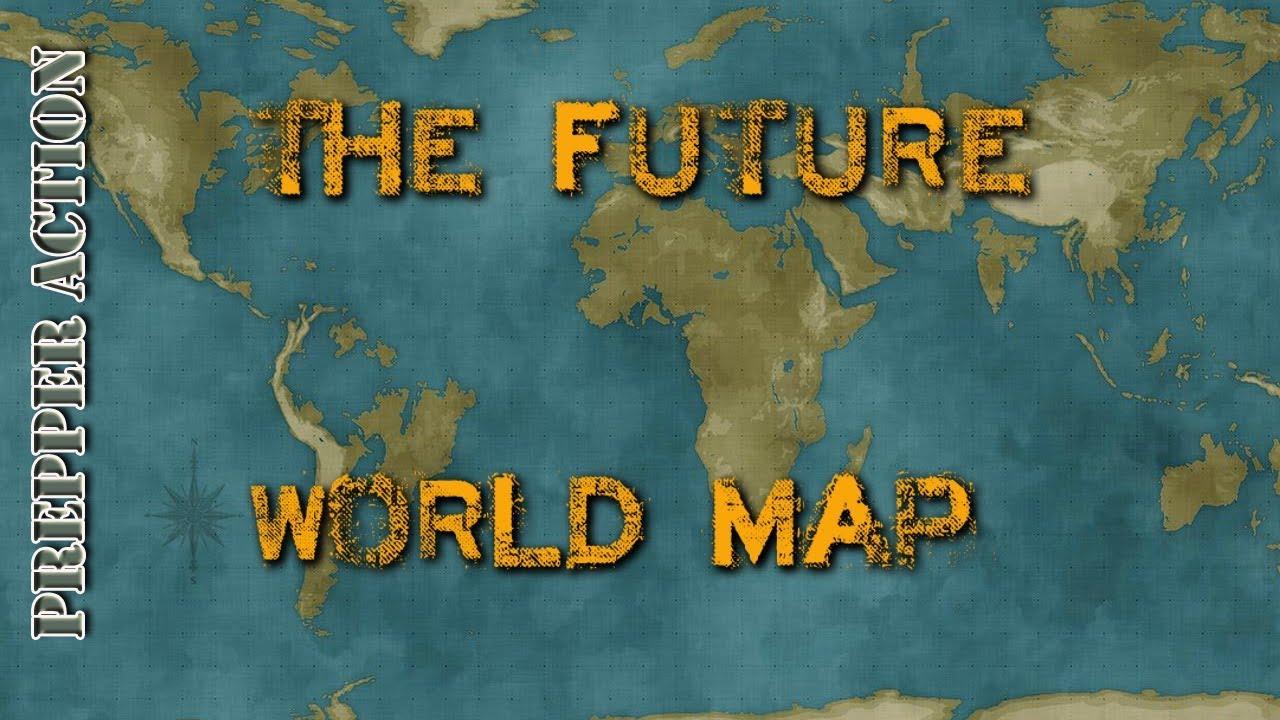 Edgar Cayce Future Us Map Future World map   YouTube
