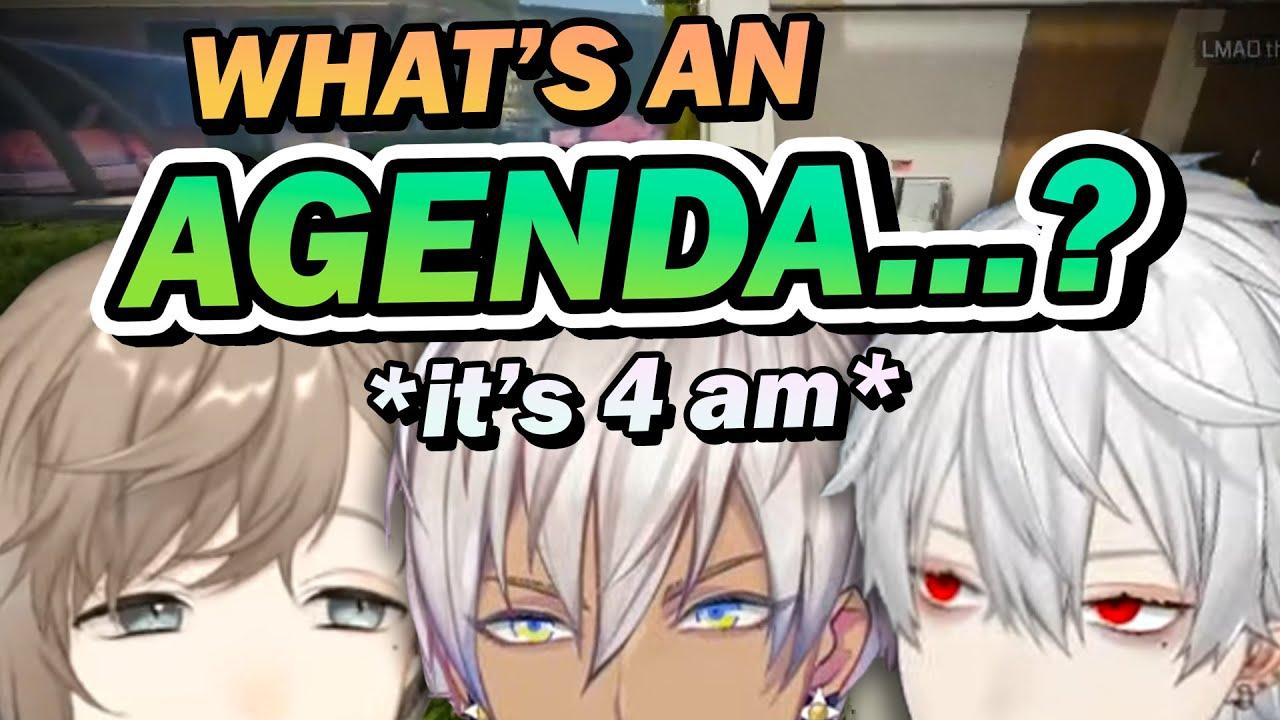 Download [ENG Sub/Nijisanji] Kanae, Kuzuha and Ibrahim talking nonsense for 5 minutes straight