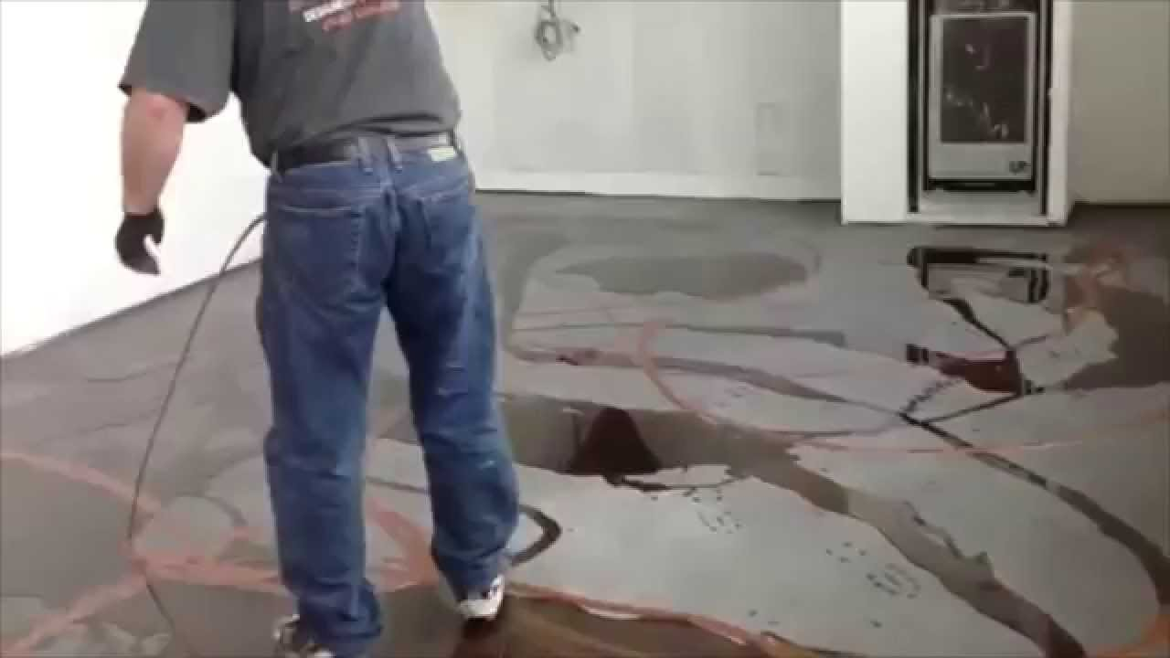 Designer Metallic Epoxy Floor Installations Youtube