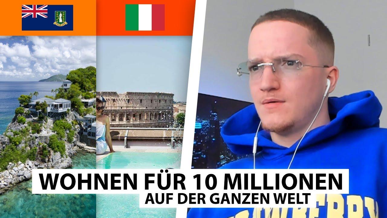 Was du für 10 Millionen auf der Welt bekommst! 🏘️   Justin reagiert