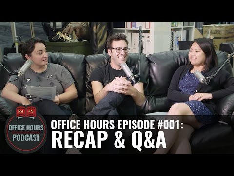 RJFS Recap! - RJFS Office Hours Podcast - Ep. 1