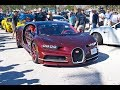 Bugatti Chiron, McLaren P1, Lamborghini Aventador SV & More Supercars at Cars and Coffee Palm Beach