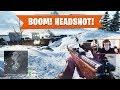 BOOM! HEADSHOT! | Battlefield V Multiplayer (Open Beta) | PS4 Pro
