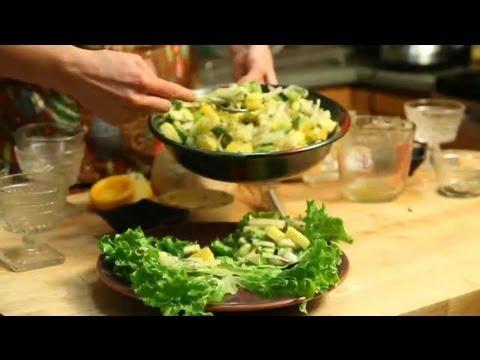 Hawaiian Citrus Salad: Fresh Salads