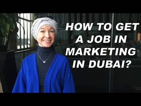 Job in Dubai: How Albina got a job in marketing?