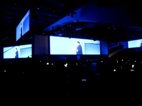 Salesforce Dreamforce 11 Key Note Intro