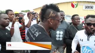 Allsports Ghana - Asamoah Gyan Mr Ibu  Funny Face crack up fans