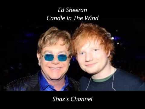 Ed Sheeran - Candle In The Wind (Elton John Cover) (Lyrics)