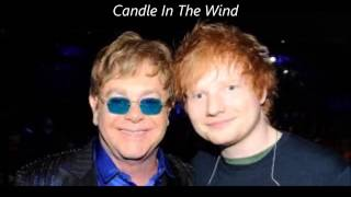 Ed Sheeran - Candle In The Wind (Elton John Cover) (Lyrics)