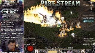 Diablo 2 - Farming Torches!! with Frenzy Barb!! 08/12/2018