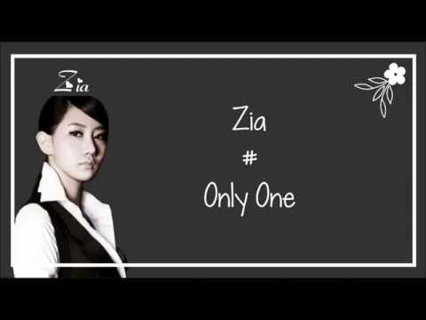 Zia - Only One Lyrics (Ost Cinderella And Four Knights)