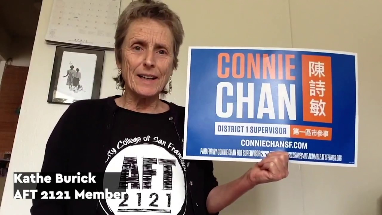 City College Educators Endorse Connie Chan for District 1 Supervisor