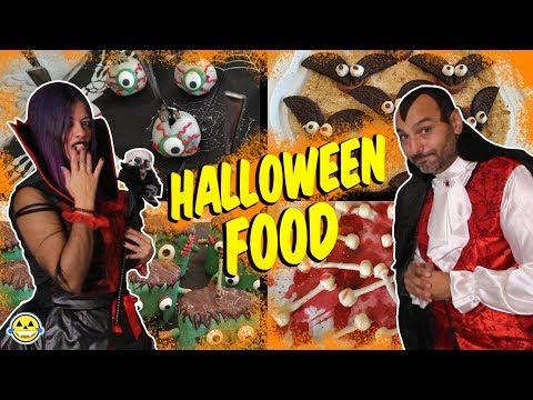 🎃HALLOWEEN FOOD 🎃Comida Terrorífica de Halloween Momentos Divertidos