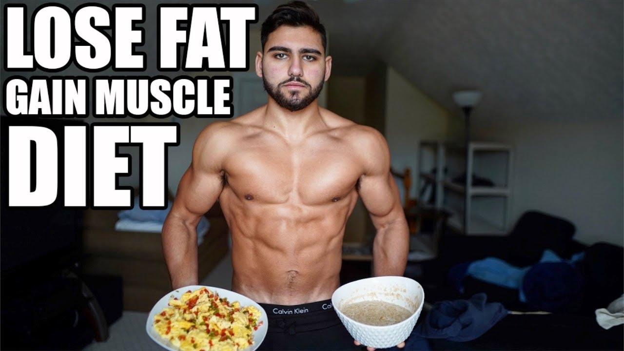 eating plan lose fat gain muscle