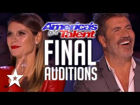 America's Got Talent 2017 ALL FINAL AUDITIONS | Got Talent Global