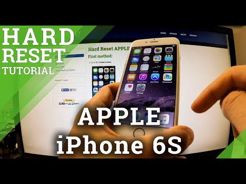 hard reset of iphone reset apple iphone 6s factory reset via the 14248