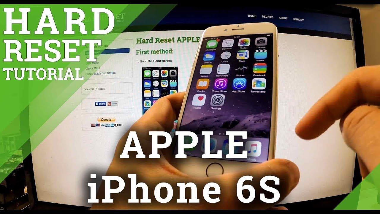 Hard Reset APPLE iPod Touch (5th generation) - HardReset info
