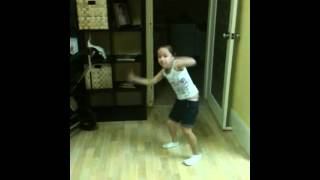 "My 6yr old girl dancing to ""SHAKE SENORA"" by Pitbull & T-Pain"