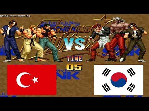 Kof 95 - Firat (turkey) VS Andynim (south Korea) Fightcade