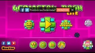 Venha me ver jogar no Geometry Dash Lite no Omlet Arcade!