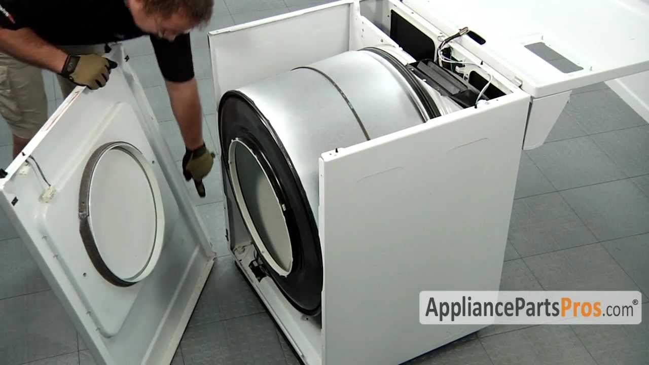 Dryer Idler Pulley (part #WP691366) - How To Replace - YouTube