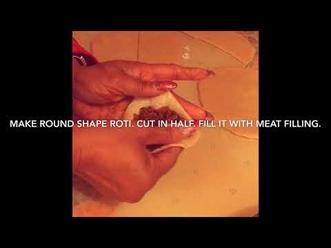 MEAT SAMOSAS ARA STYLE