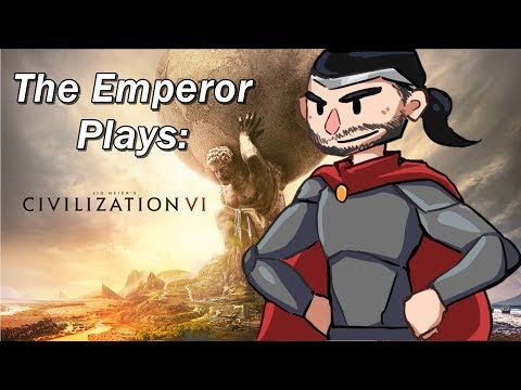 Civilization 6 LIvestream, January 12, 2017. The Defeat of Brazil and Exploring Oceans