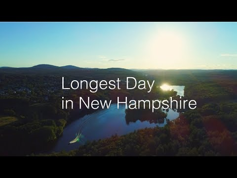 Longest Day of the year: Summery Sky in New Hampshire