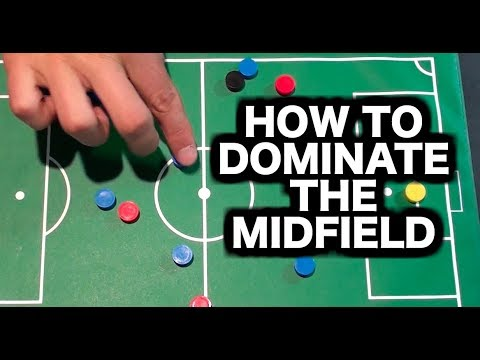 How to become a better midfielder in soccer | How to play midfielder in football