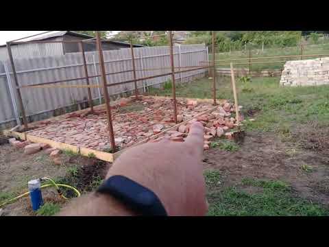 Как построить металлический сарай своими руками