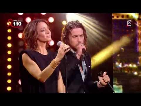 Julien Doré et Virginie Guilhaume