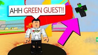 GREEN GUEST TROLLS ME WITH ADMIN COMMANDS.. AGAIN!! (Roblox)
