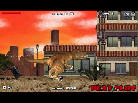 วีดีโอการเล่นเกม LA Rex ทีเร็กซ์ไดโนเสาร์พันธุ์ดุ