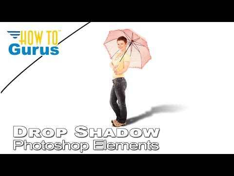 How To Do Drop Shadow And Cast Shadows In Photoshop Elements 2019 2018 15 14 13 12