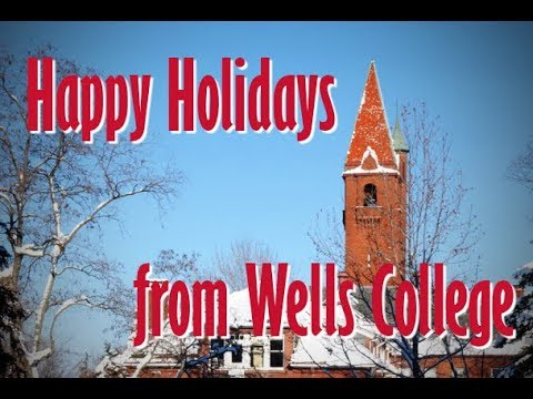 Holiday Greetings from Wells College