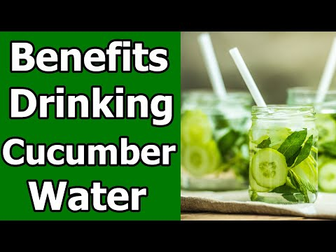 7 Benefits of Drinking Cucumber Water