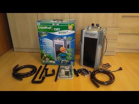 unboxing external filter jbl cristalprofi e1501 greenline youtube. Black Bedroom Furniture Sets. Home Design Ideas