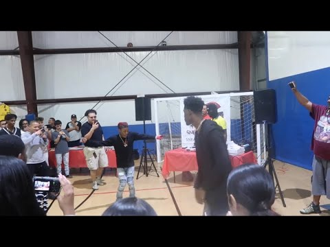 DANCE BATTLE AT SNEAKER GAMES HOUSTON 2018!!! FT. YoungSwag, FunnyMike, King and Nique