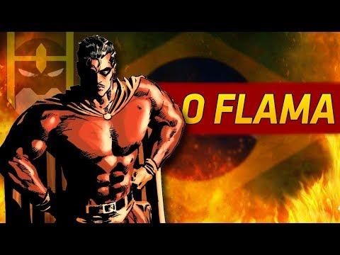 🇧🇷 HERÓIS BRASILEIROS: O FLAMA 🔥