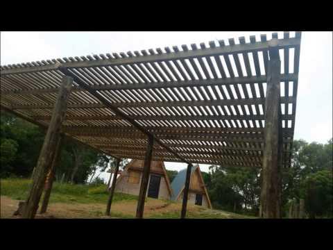 Pergolas aleros techos livianos barbacoas cocheras for Techos metalicos para cocheras