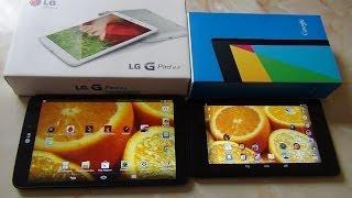 Сравним! LG G Pad 8.3 vs Asus NEXUS 7 (2013) / от Арстайл /
