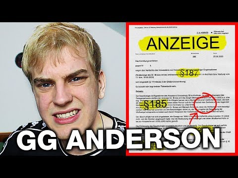 GG Anderson hat mich angezeigt