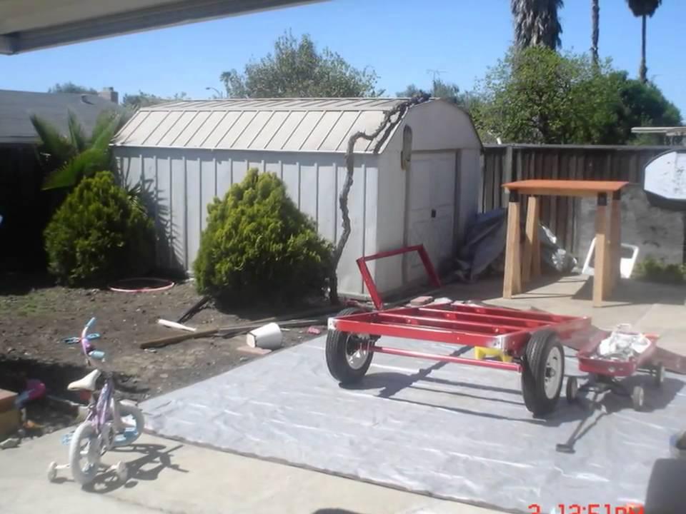 harbor freight tent trailer