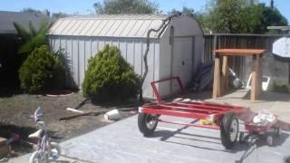 Camping Trailer / Harbor Freight Trailer. Custom Built Trailer.