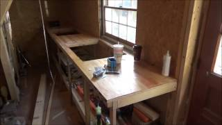 Update And Overview Of My Tiny House Construction So Far O13