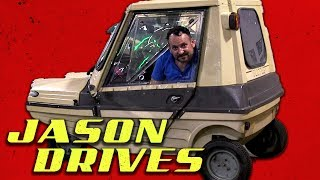 The Plastic Box That Spins and Pretends to Be a Car   Jason Drives