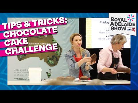Royal Adelaide Show Chocolate Cake Judging 2017
