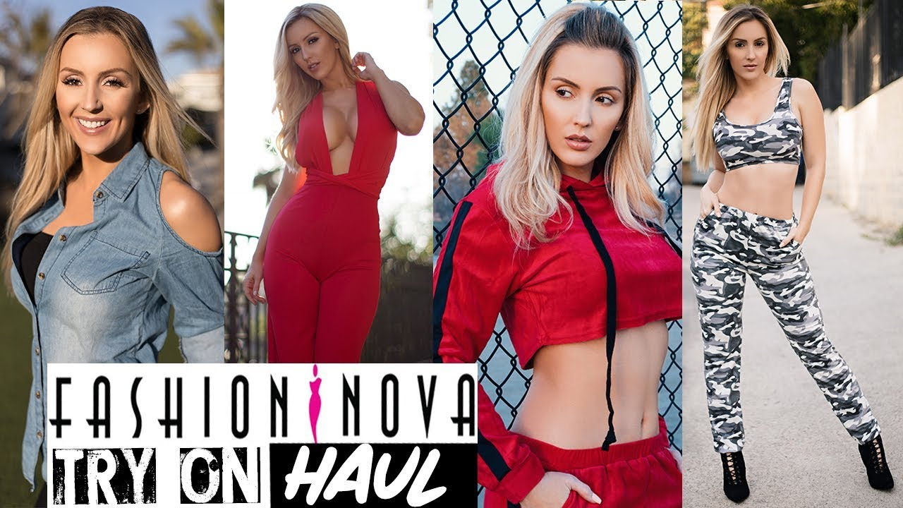 [VIDEO] - FASHION NOVA ?SPRING LOOKBOOK TRY-ON HAUL 1