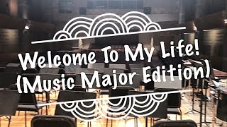 A DAY IN MY LIFE (Music Major Edition) || Vlog