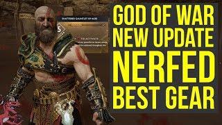 God of War Best Gear NERFED With New Update (God of War 4 Best Gear)